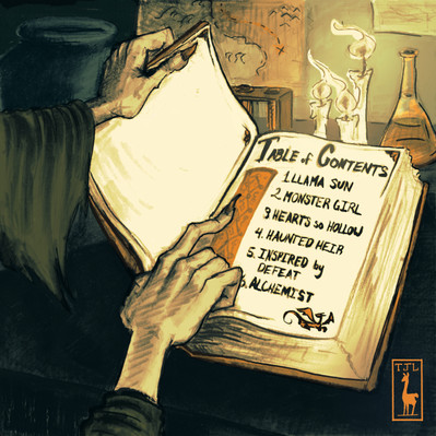 The Jolly Llamas, Story Rock, Table of Contents