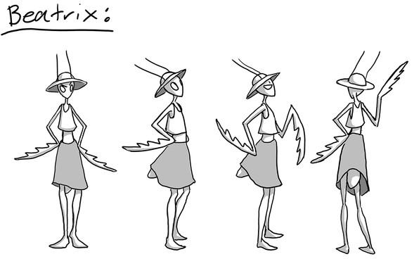 Character Sheet, Beatrix