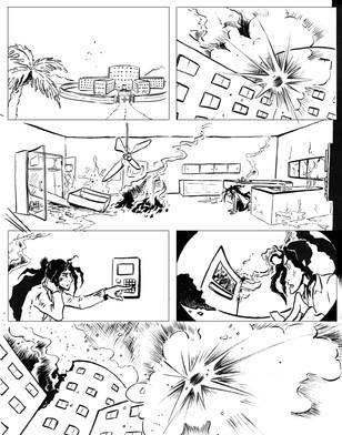 The Phoenix Corps, Page 2, B&W