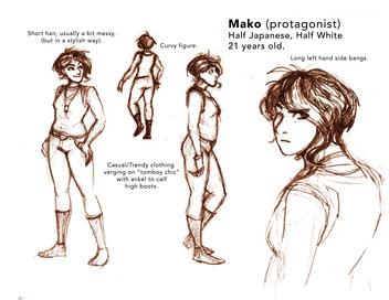 Character Sheet, Mako