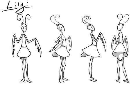 Character Sheet, Lily
