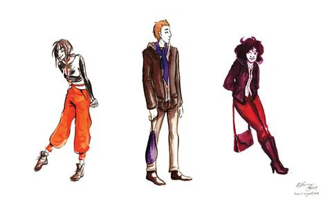 Fall Fashion Trio