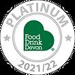 Platinum Award Food Drink Devon