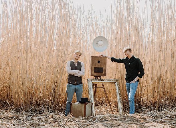 Herr Licht Fotobox Sascha und Andi