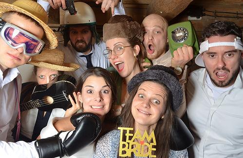 Fotobox Foto Herr licht