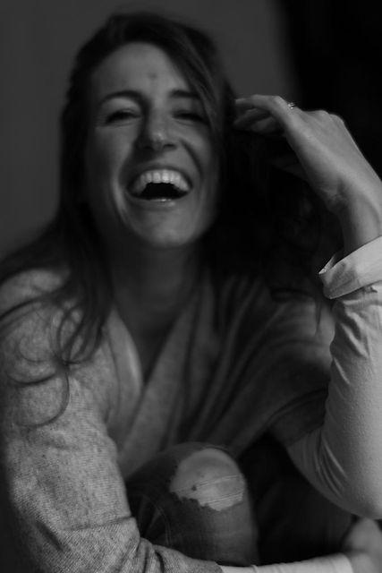Gabriele Werstler lacht