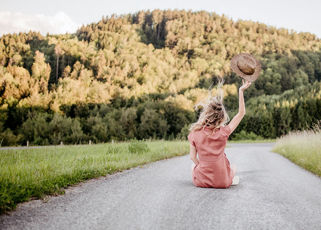 Jana Zechmeister Loslassen in den Bergen