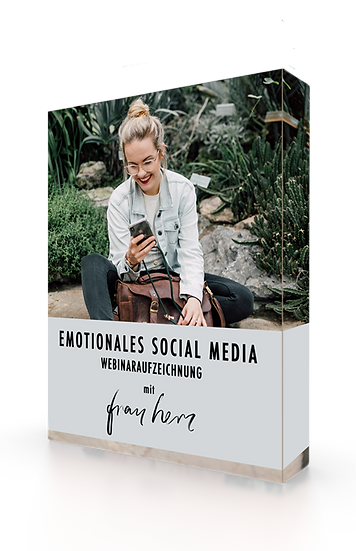 Emotionales Social Media Marketing | Webinar Aufzeichnung
