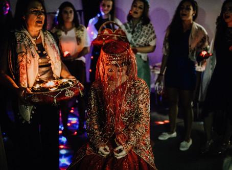 Traditioneller Henna Abend mit Funda