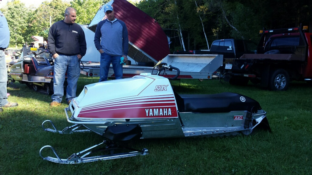 Best Restored Racer. Michael Wood, 77 Yamaha SRX