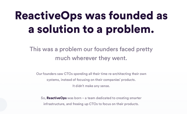 About ReactiveOps