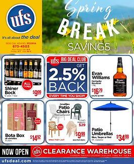 UFS Flip Book - Sprig Break