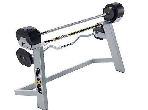 MX80 Adjustable Barbell & EZ Curl Bar
