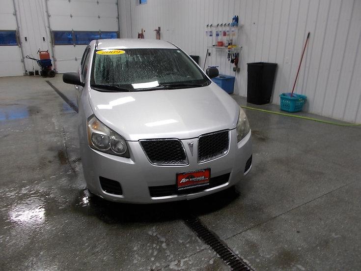 Silver 2009 Pontiac Vibe