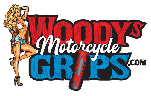 Woody's Motorcycle Grips Logo