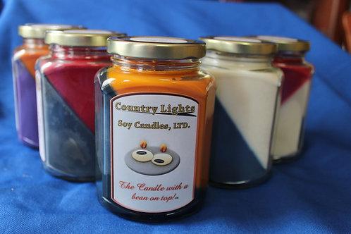 Custom Color Jar Candle