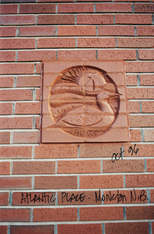 Loon in Brick