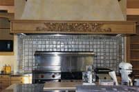 Fireplace with Handmade Tile