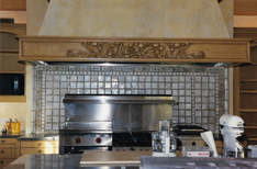 Fireplace with Handmade Tile