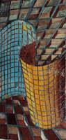 Optical Illusion Mosaic