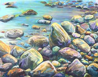 Rocks of Mistaya Canyon