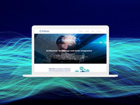 Brillianetor - website design