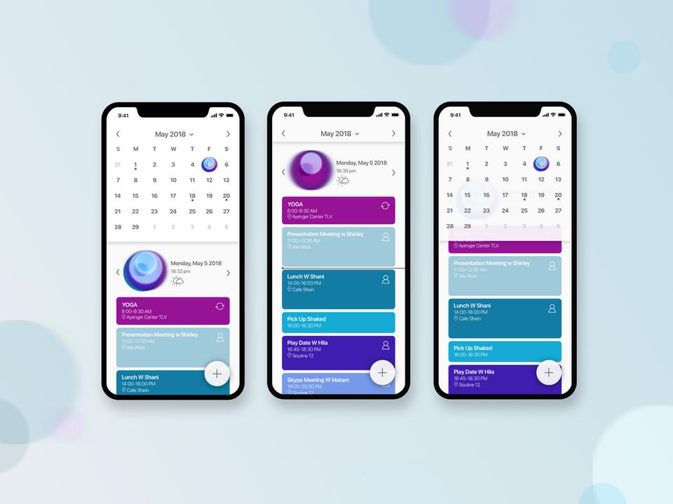 New Day - conceptual calendar app - coming soon