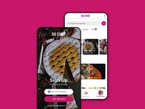 Su Chef - recipes manager app