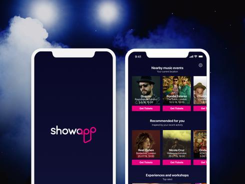 Showapp - music events app
