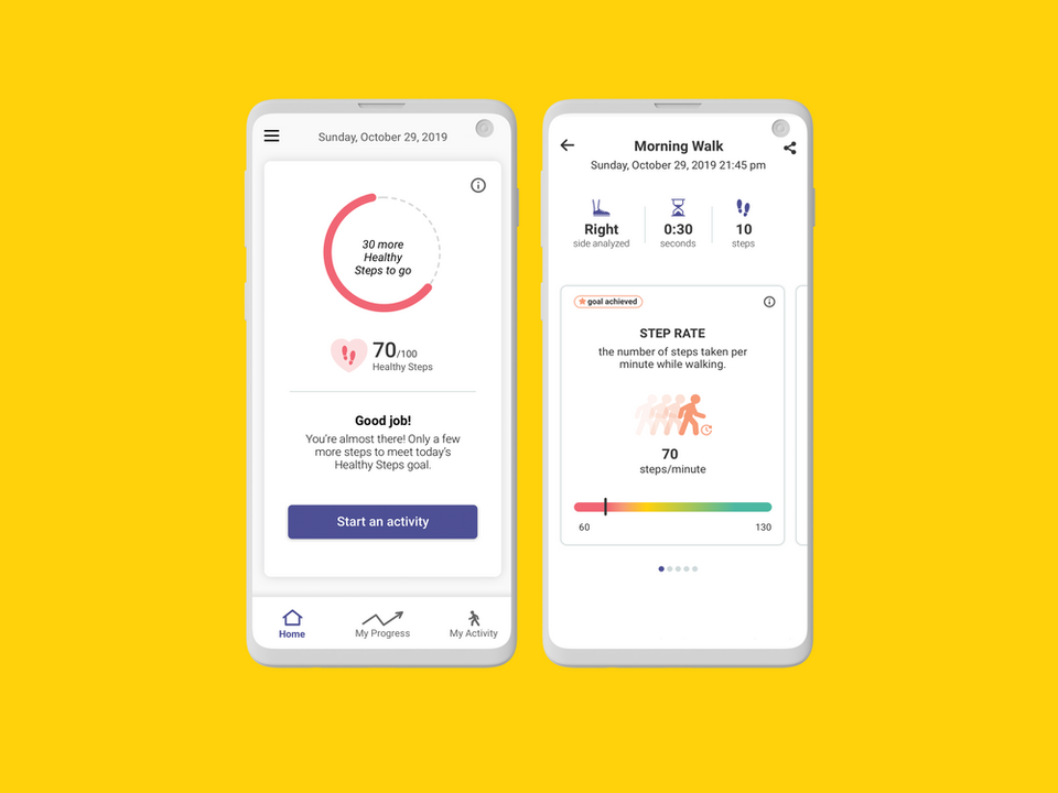 OneStep - physical therapy app