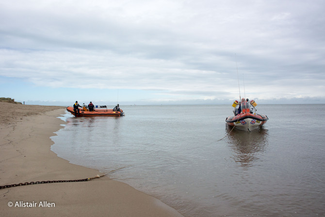 Boat Handling at Knott End