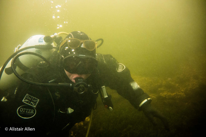 River Leven for a Christmas Dive