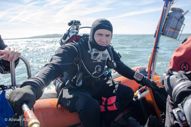 Anton's Advanced Diver trip to the Skerries