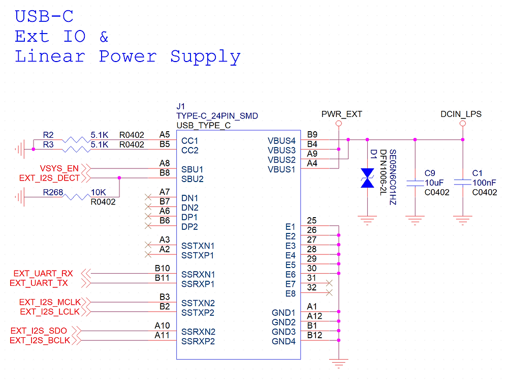 You may refer to the schematic above for more details.