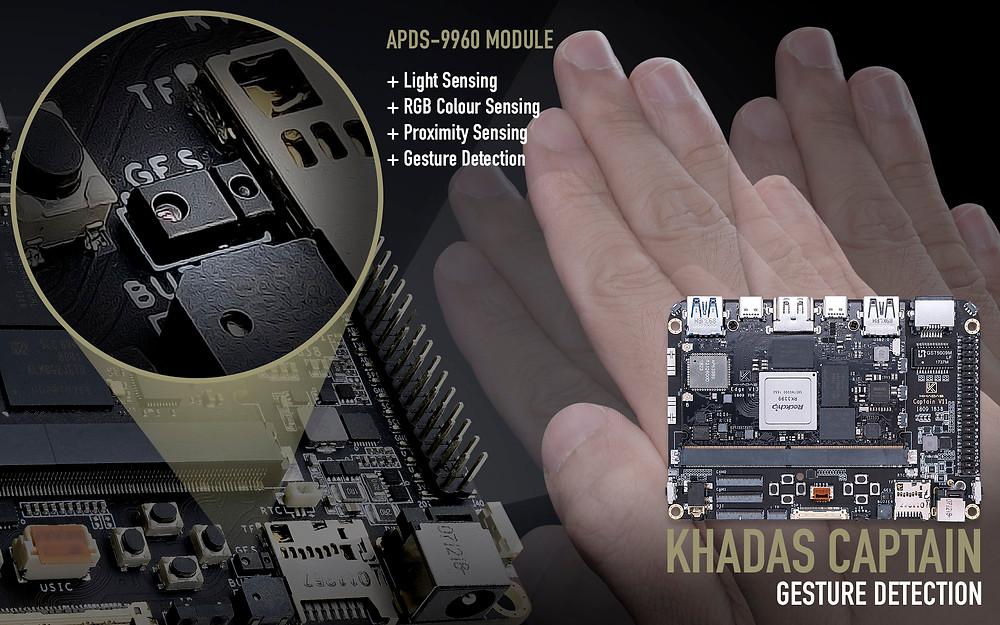 APDS-9960 Advanced Gesture Detection Module.