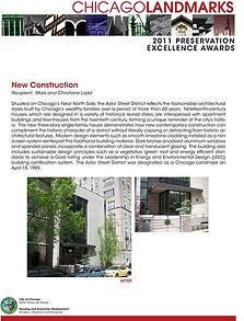 Chicago Landmarks award