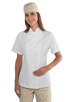 vestes de cuisine et vêtements de cusine - Veste De Cuisine Noir Pas Cher