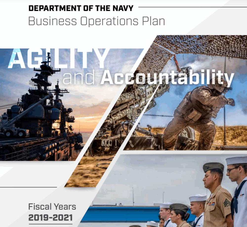 Department of the Navy Business Operations Plan