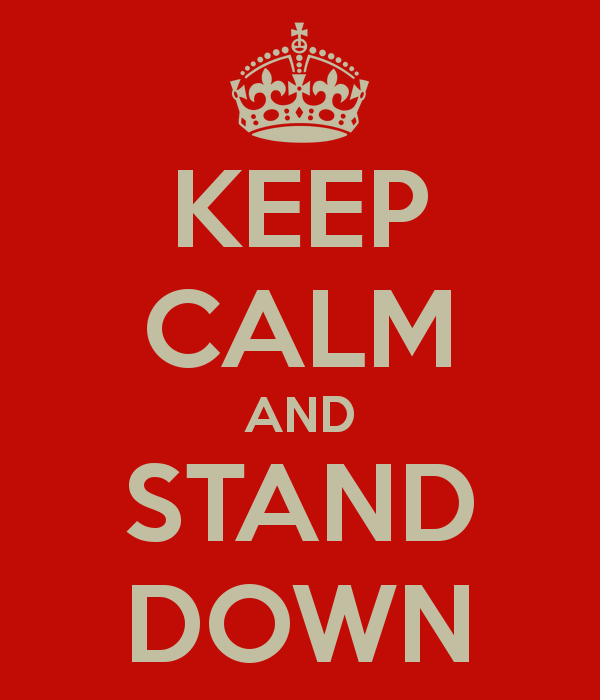 Lessons from a Sprint stand-down