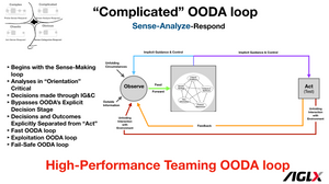 High-Performance Teaming OODA loop