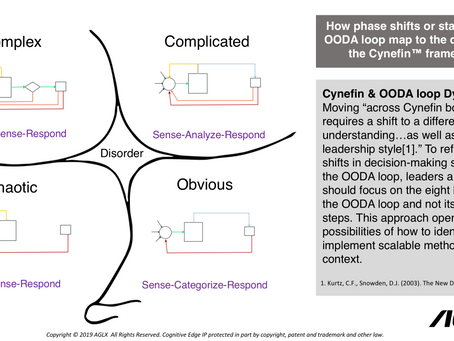 The New Killer App: The OODA loop and Cynefin framework. Part I