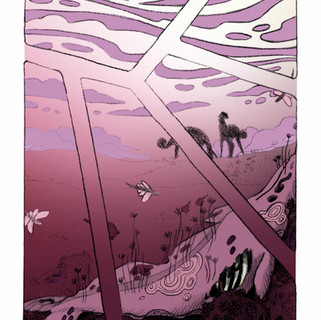 Whalefall Print