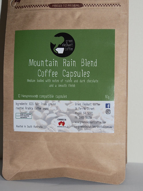 Mountain Rain Blend Coffee Pods