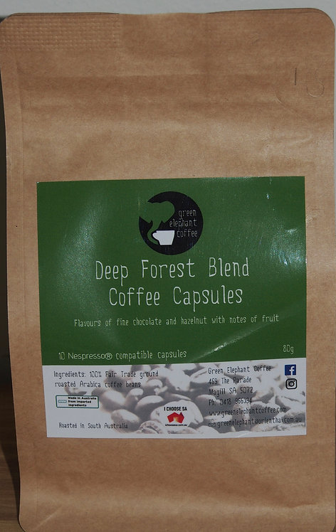 Deep Forest Blend Coffee Pods