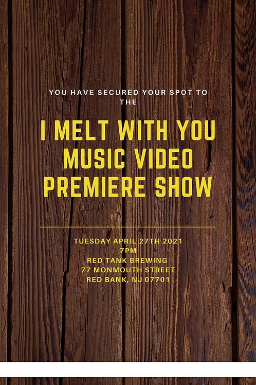Video Premiere RSVP ticket