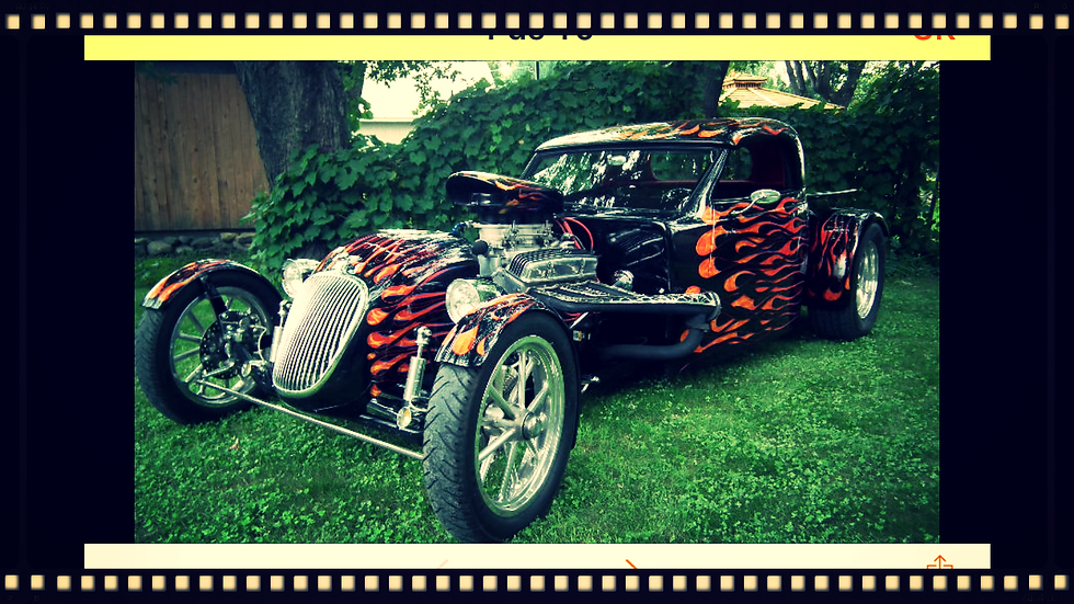 Pick-up Hot Rod / Rat Rod ford 1927