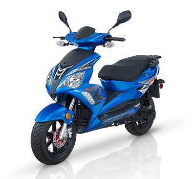 2022 SCOOTER ADLY  GTA 50cc