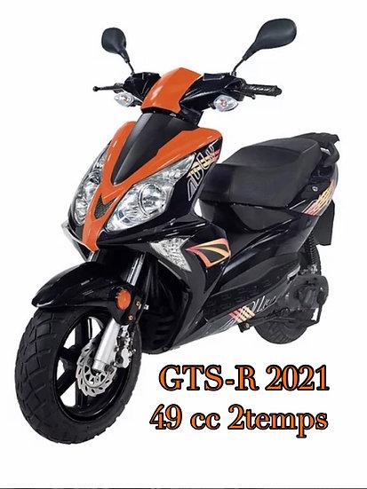 NOUVEAU SCOOTER ADLY 2021 GTS-R 50cc