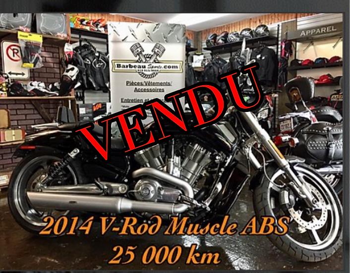 2014 V-Rod Muscles ABS