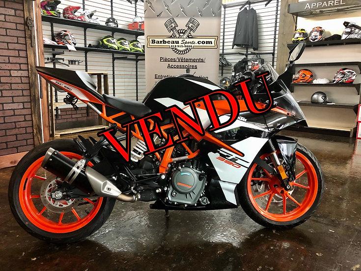 2018 KTM 390RC